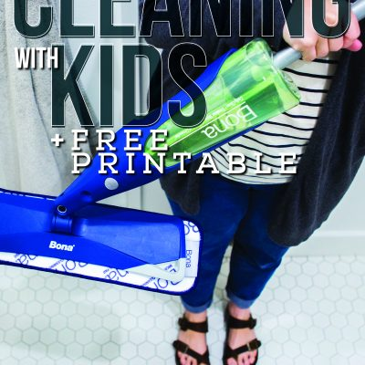 Spring Cleaning with Kids – Free Printable