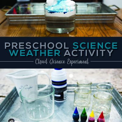 Preschool Science Weather Activity – Clouds