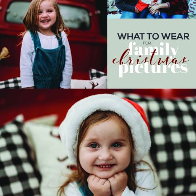 What to Wear for Family Christmas Pictures