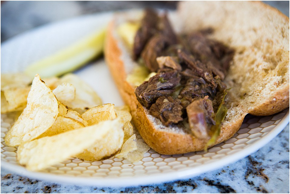 Instant Pot Philly Cheese Steak
