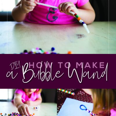 DIY How to Make a Bubble Wand