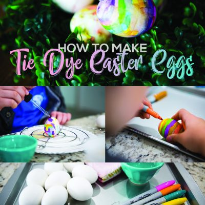 Sharpie Tie Dye Easter Eggs – STEAM Activity