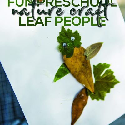 Nature Craft for Kids – Leaf People
