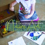 Nature Art STEAM Preschool Activity