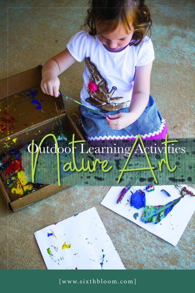 Nature Art STEAM Preschool Activity