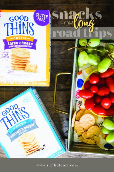 Snacks for Long Road Trips