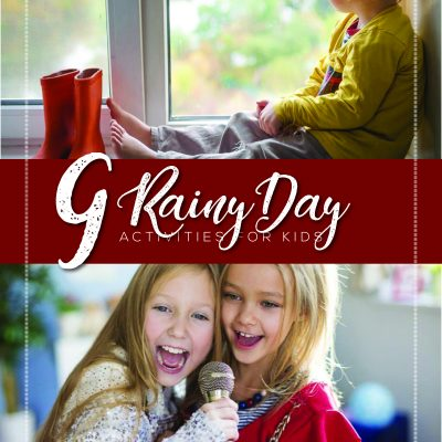 9 Rainy Day Activities for Kids