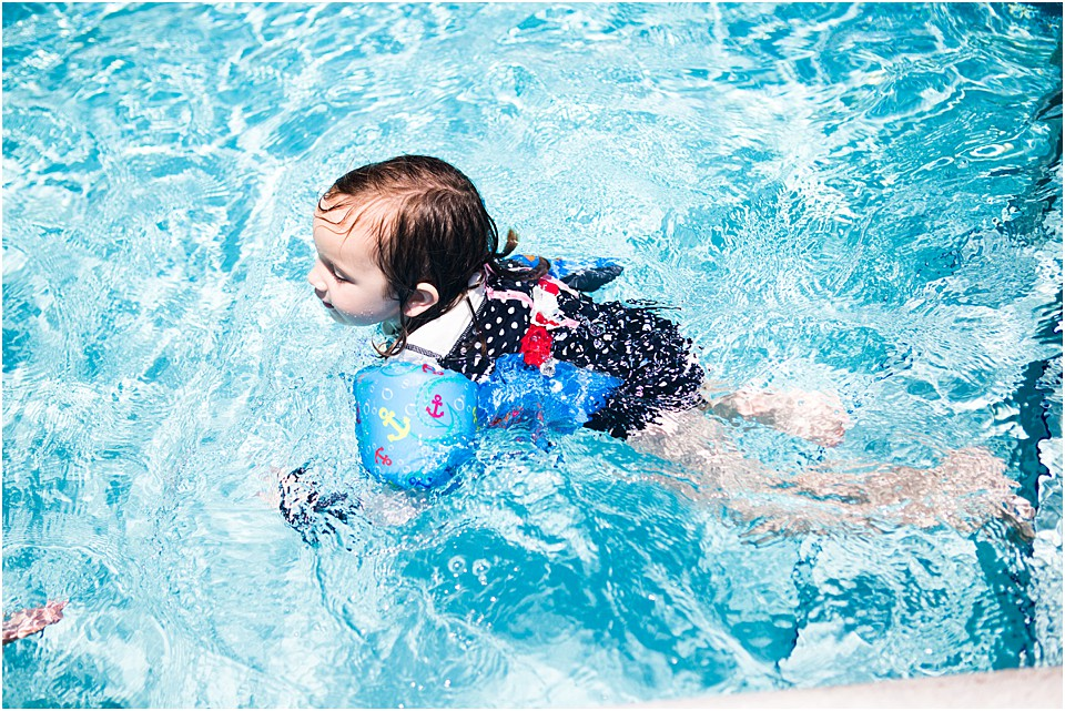 Self- Confidence In Your Child Learning to Swim