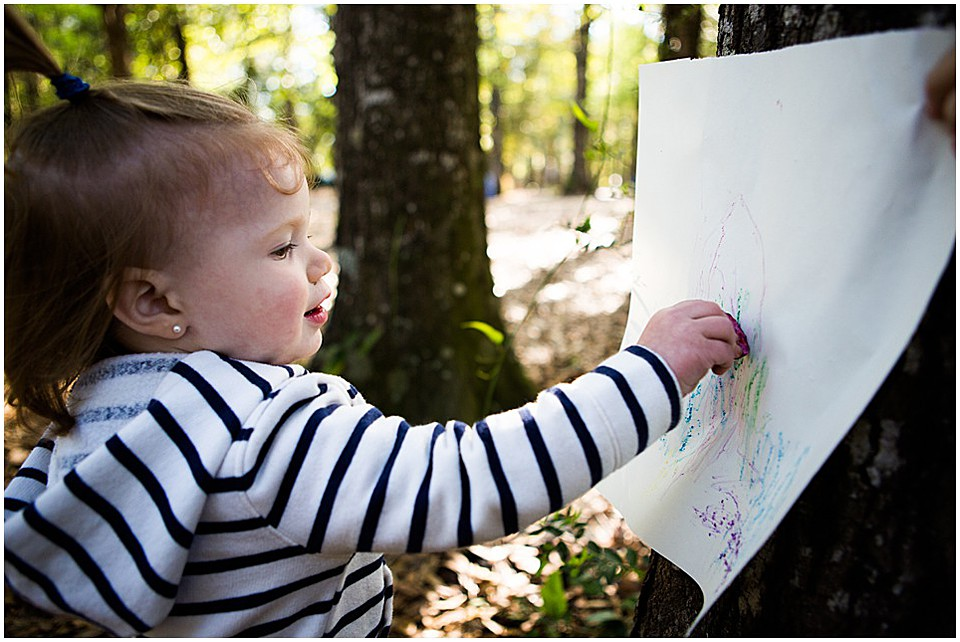 Toddler Nature Learning Activity