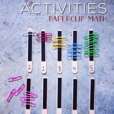Math STEAM Activities – Paperclip Math