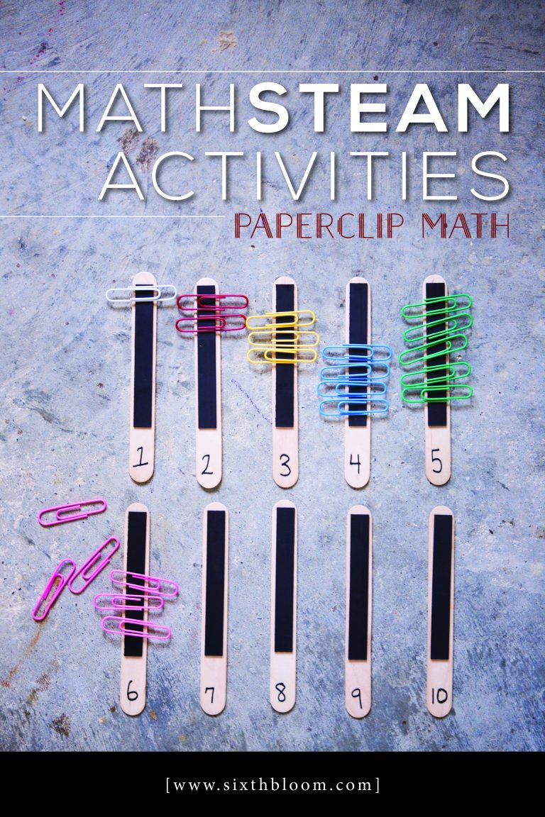 Math Steam Activities Paperclip Math Sixth Bloom