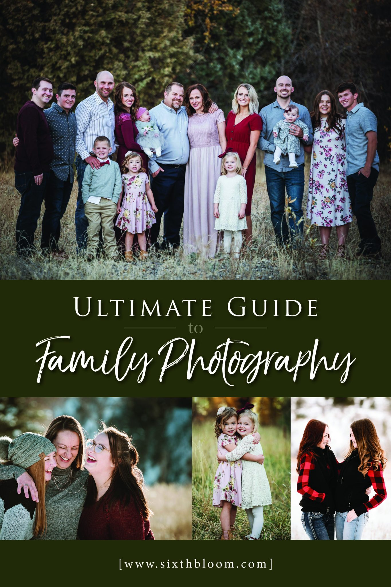 Family Photography Guide on how to shoot pictures of families