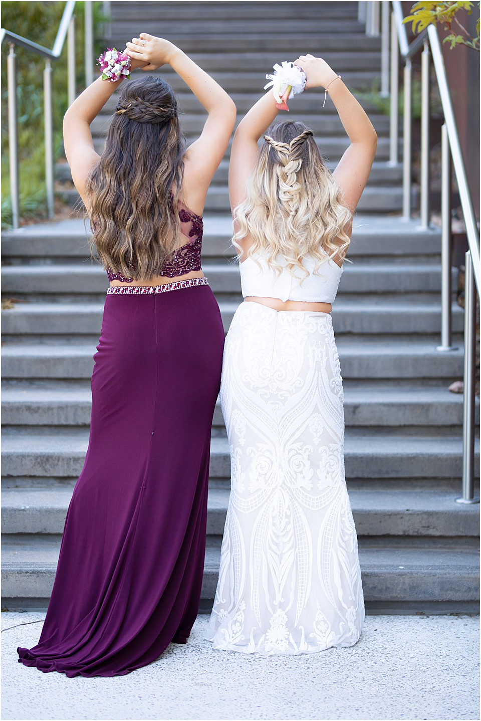 best friends senior prom picture ideas