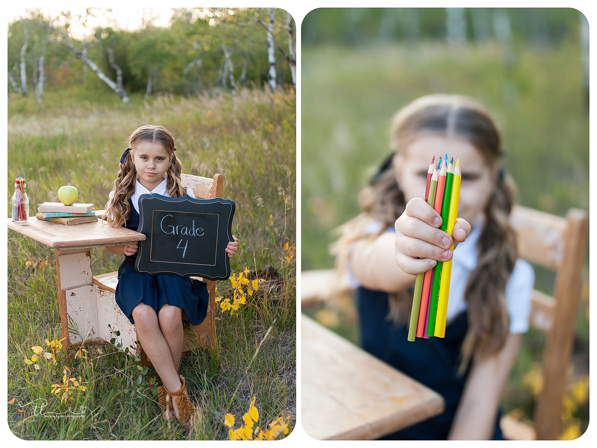 first day of school photo prop ideas