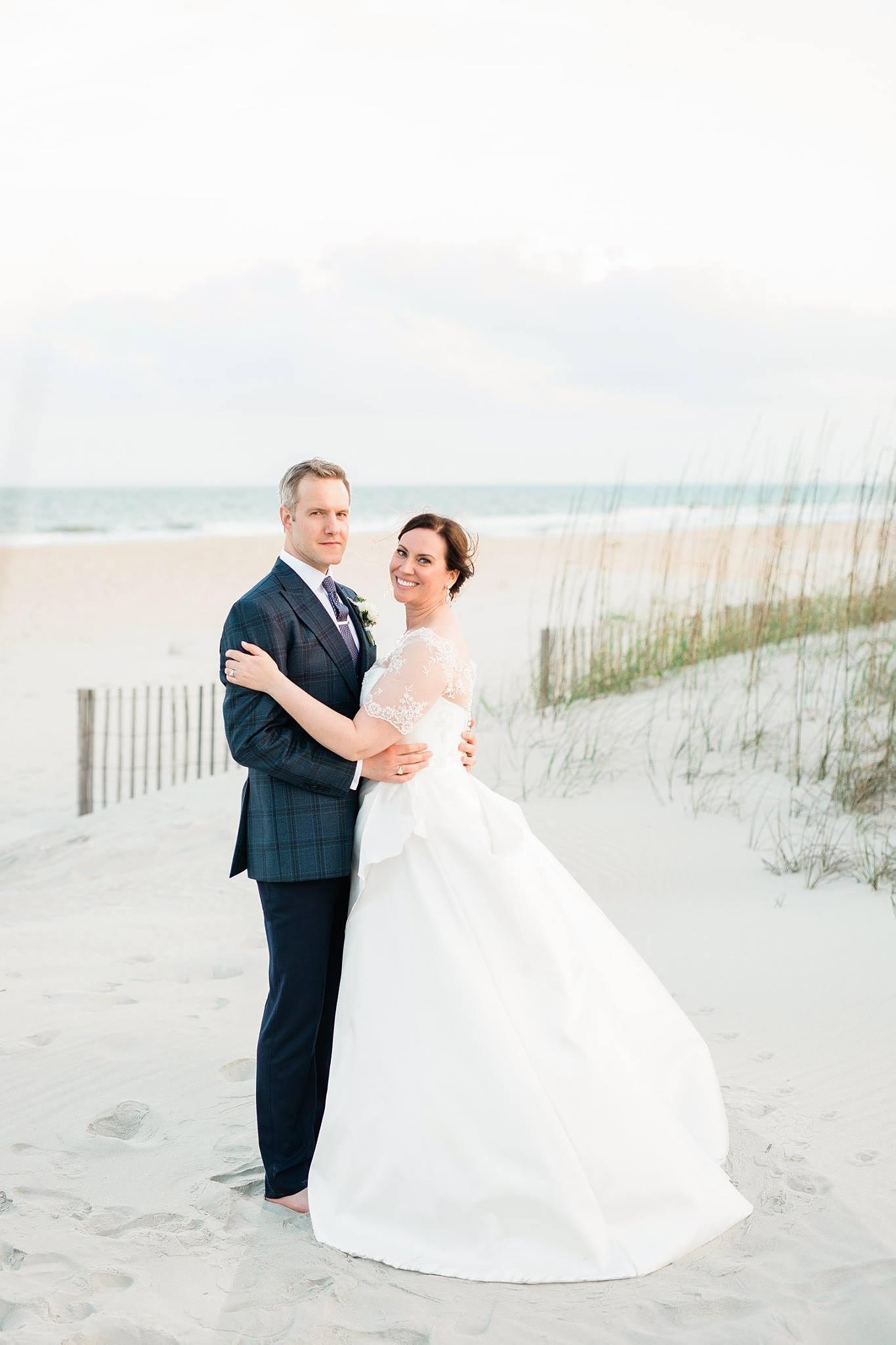 wedding beach picture in myrtle beach