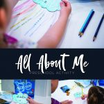 all about me preschool crafting activity