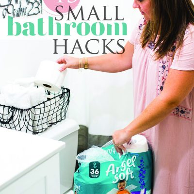 13 Small Bathroom Hacks