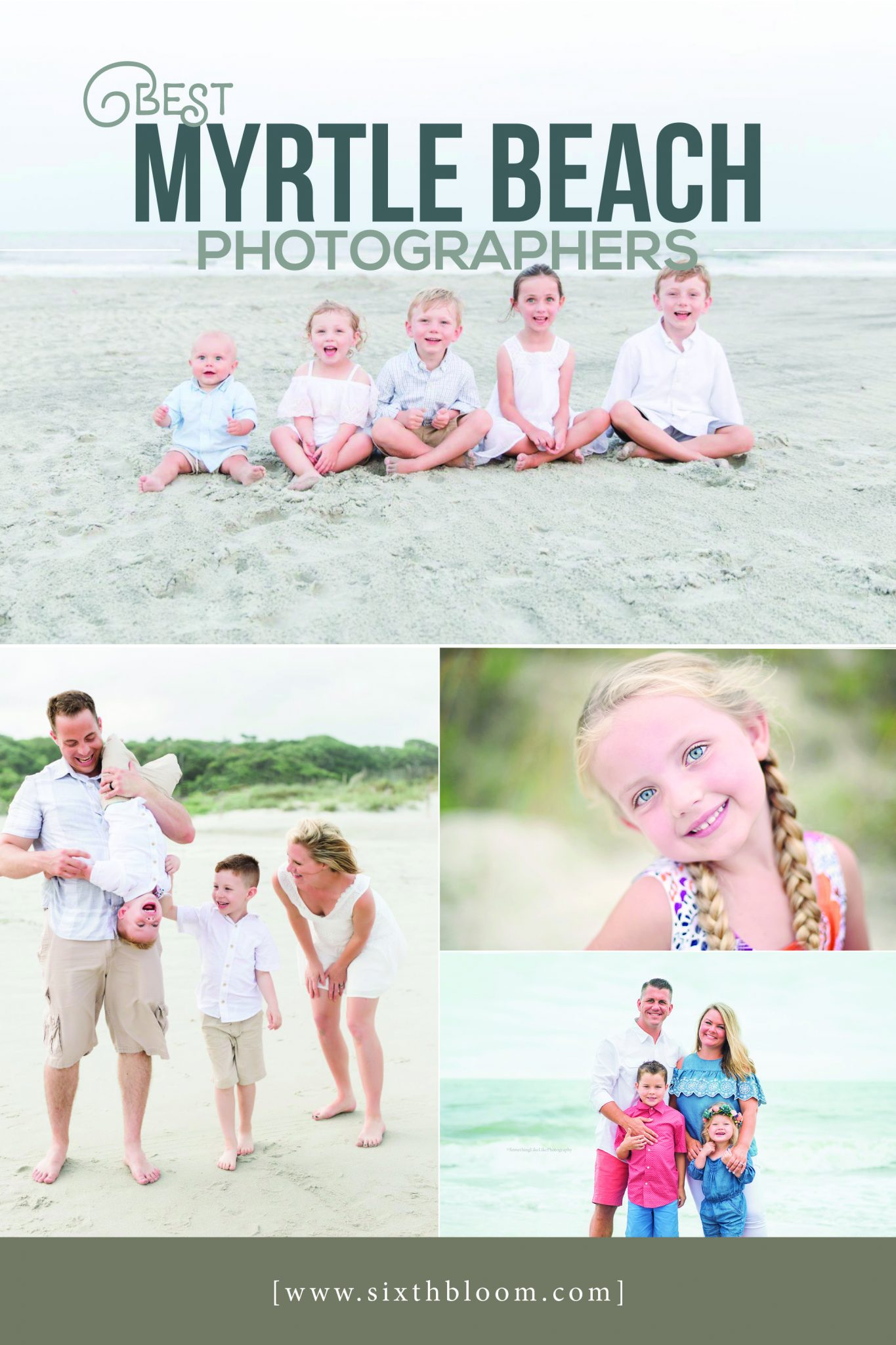 Myrtle Beach Family Photos and Photographers