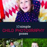 child photography poses