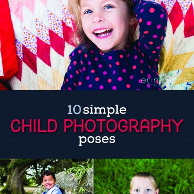 10 Simple Child Photography Poses