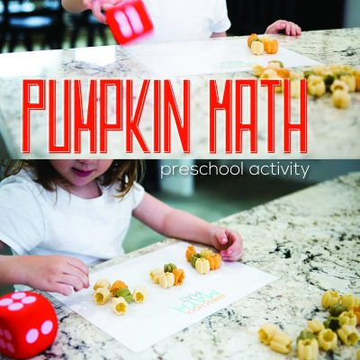Pumpkin Math – Preschool Activity