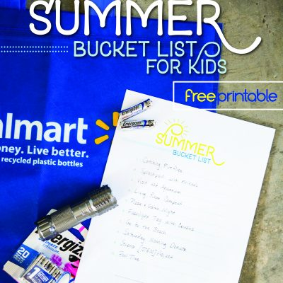 Summer Bucket List for Kids – Free Printable