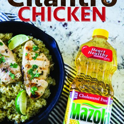 Honey Lime Cilantro Chicken