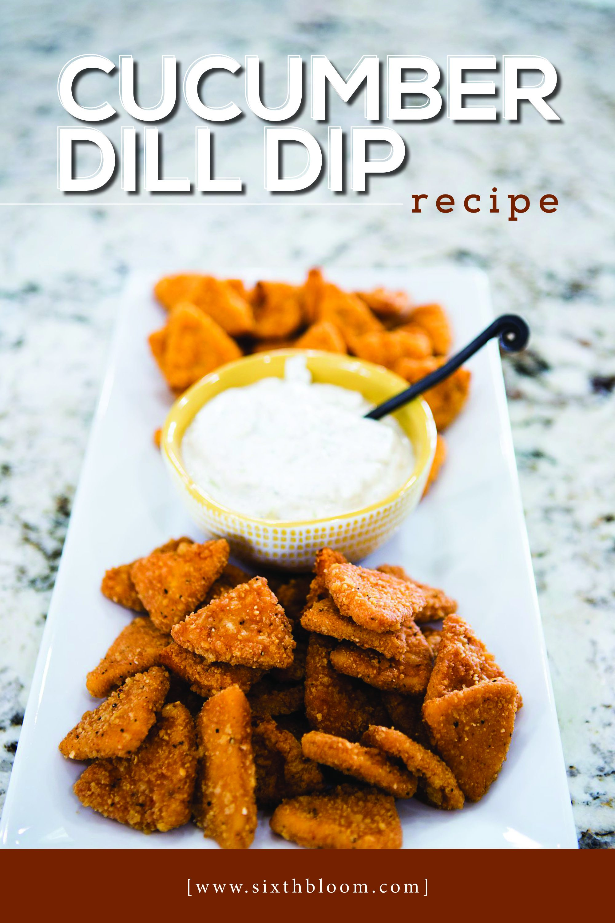 cucumber dill dip recipe with tyson anytizers chicken