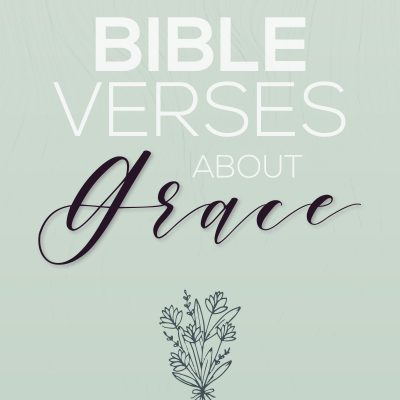 17 Bible Verses About Grace
