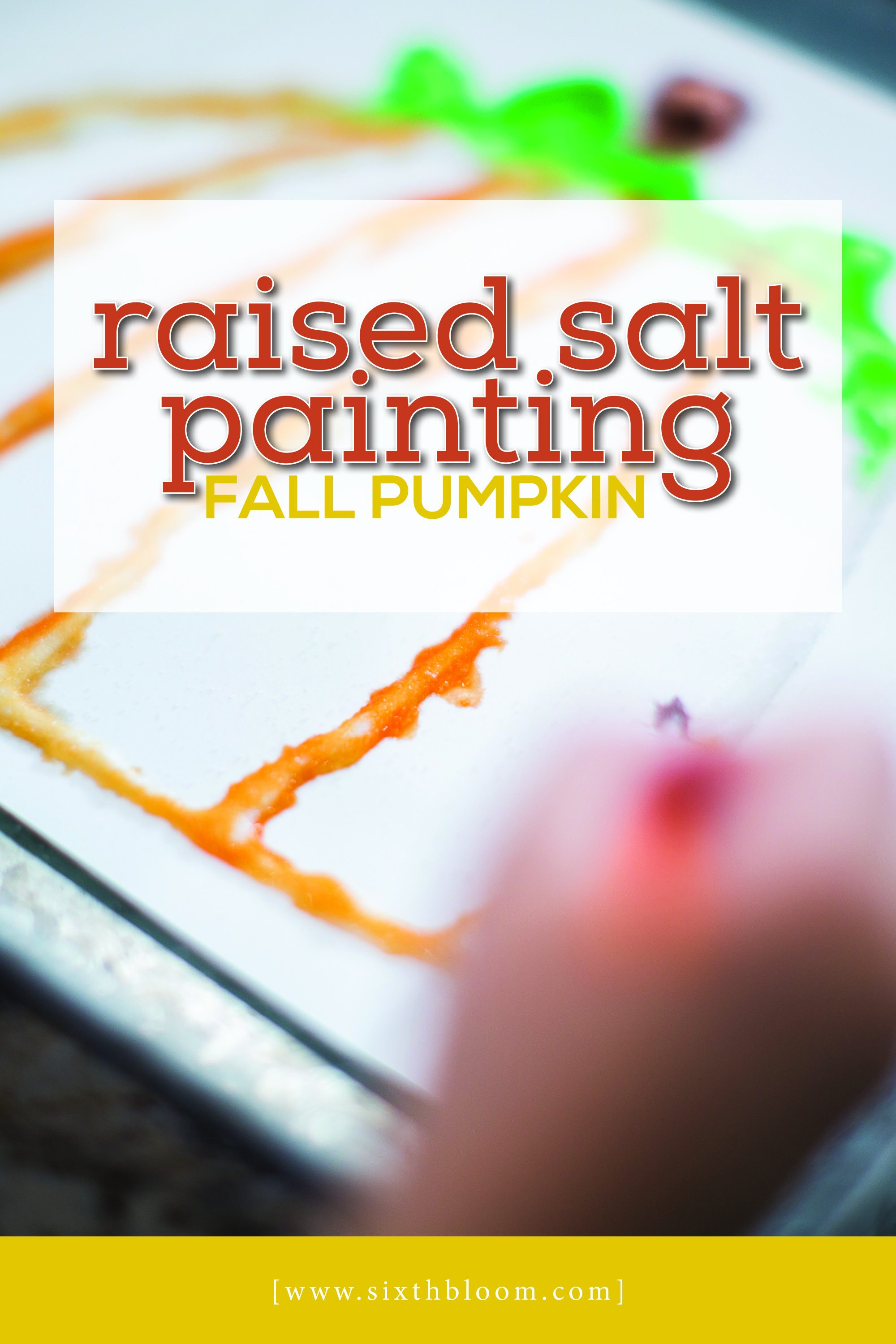 easy science pumpkin painting for preschoolers