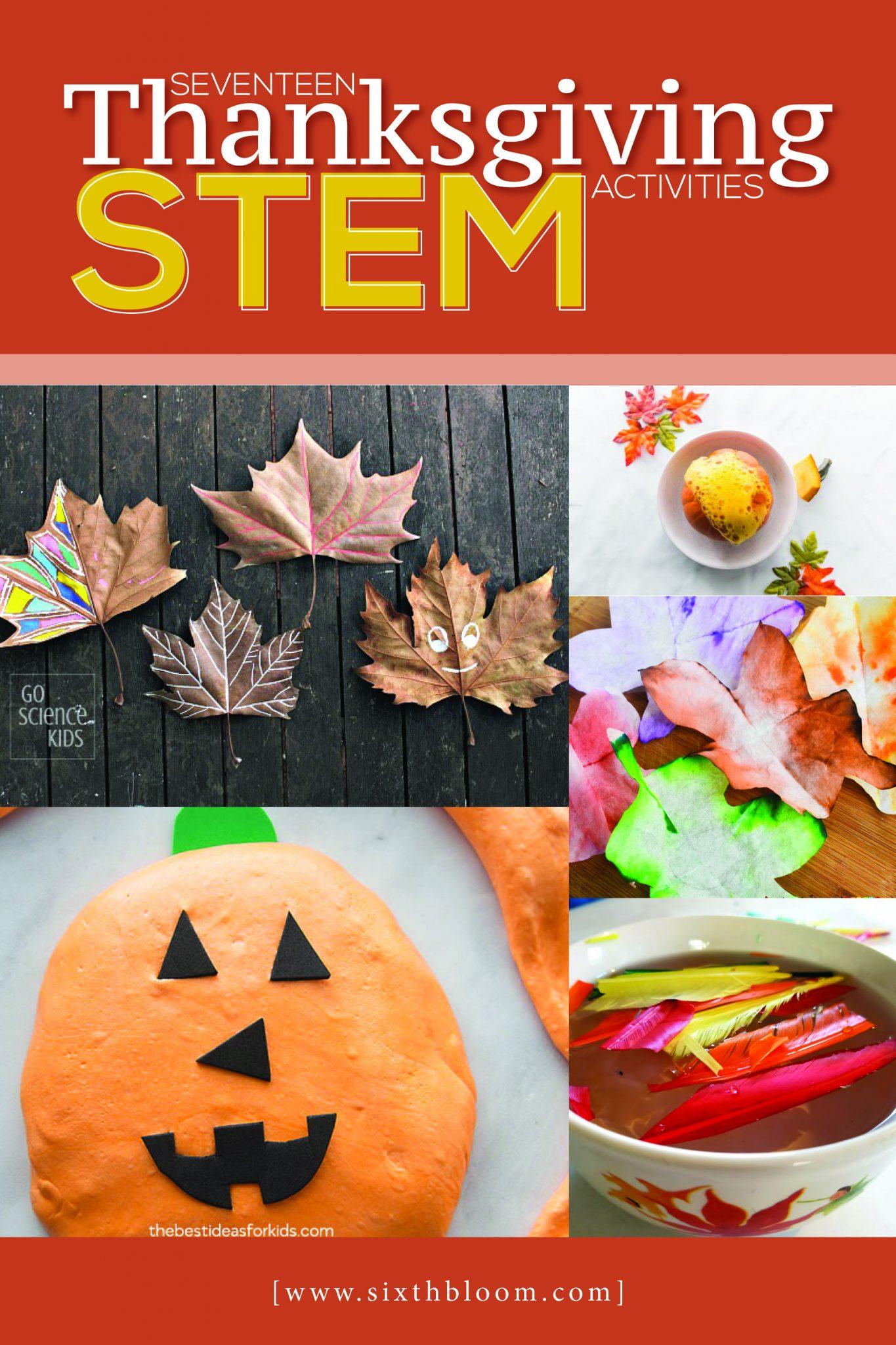 17 Thanksgiving Stem Activities Sixth Bloom