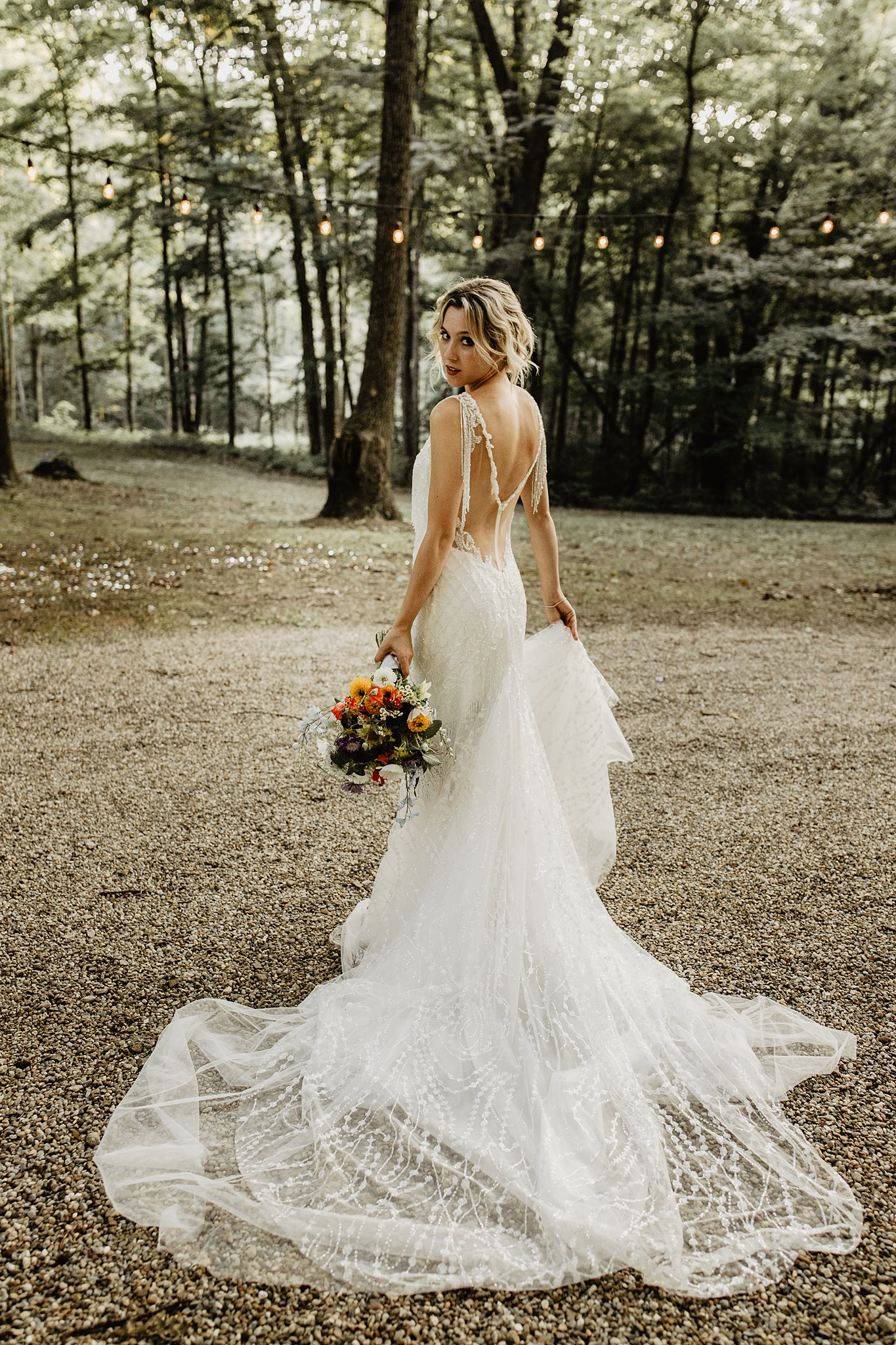 unique bridal shoot