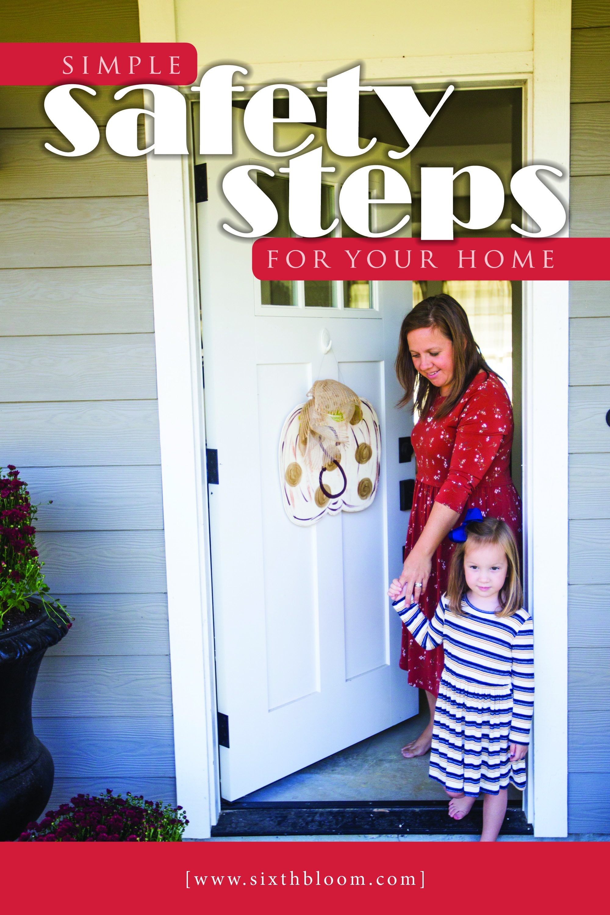 simple safety steps for your home