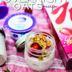 overnight oats recipe with yougurt