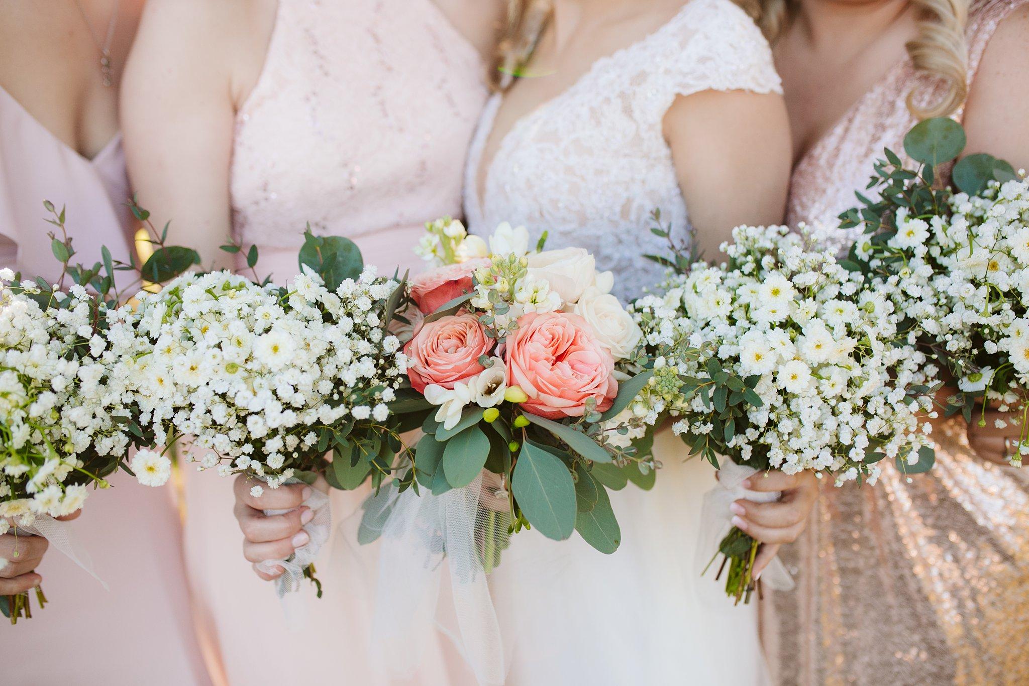 wedding bouquet detail picture
