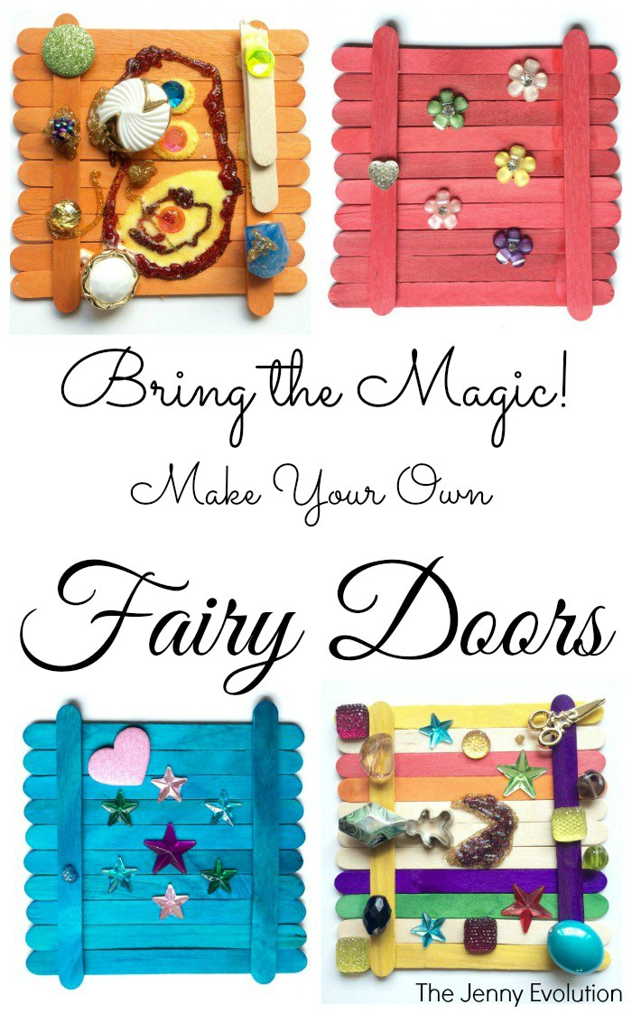 Bring the Magic! DIY Fairy Door