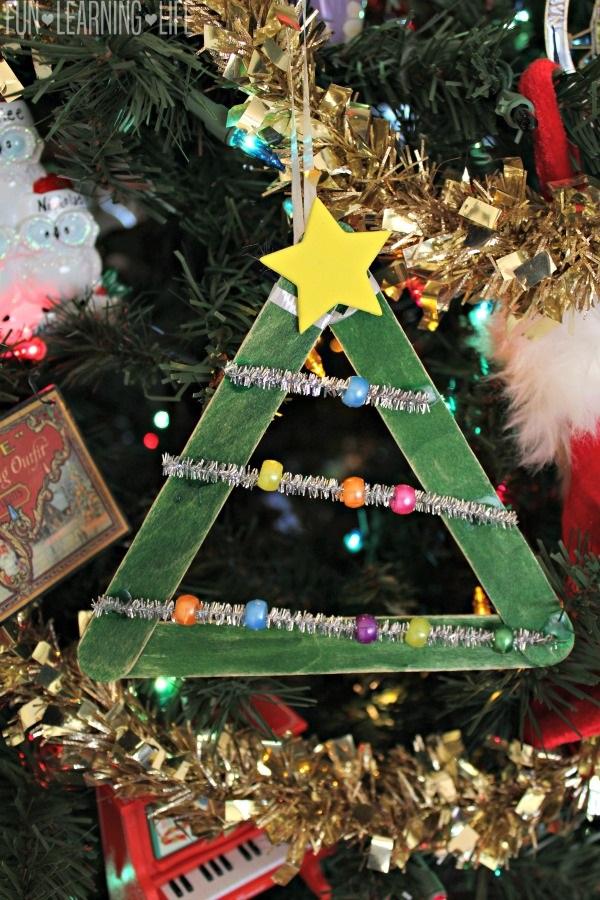 Christmas Tree Ornament Craft!