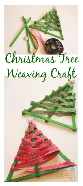 Easy Christmas Tree Ribbon Ornament for All Ages