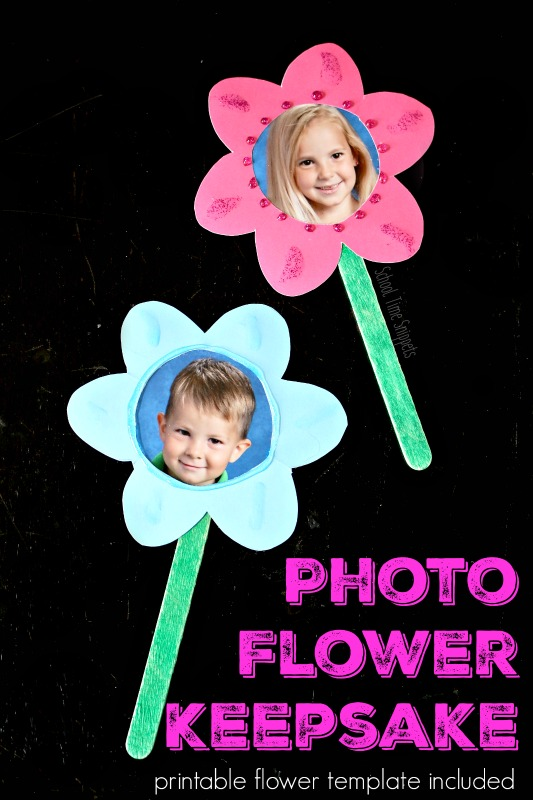 Photo Flower Bouquet | Adorable Keepsake for Mother's Day