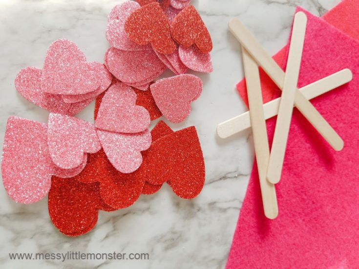 Cupid Arrow Heart Craft - The Easiest Valentine's Day Craft Ever!