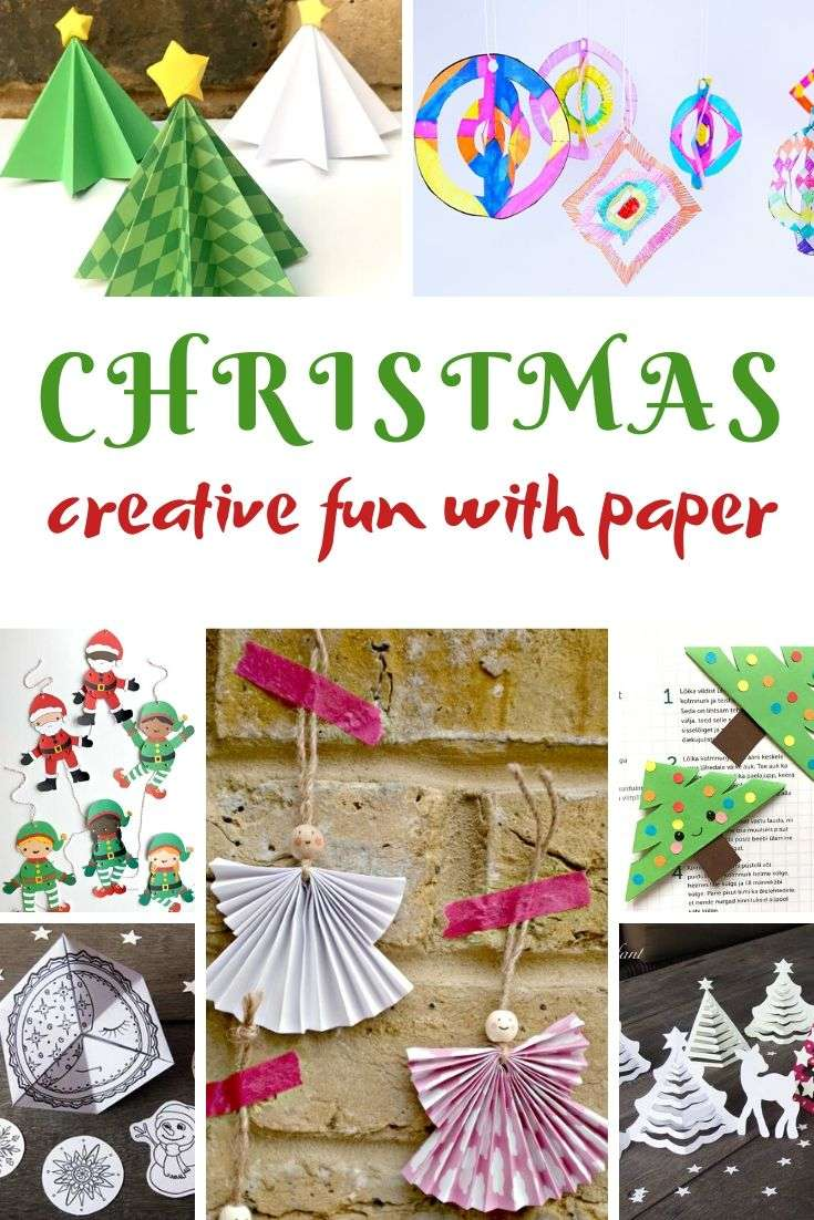 christmas paper craft ideas that are easy and fun