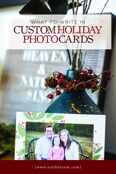 custom christmas photo cards