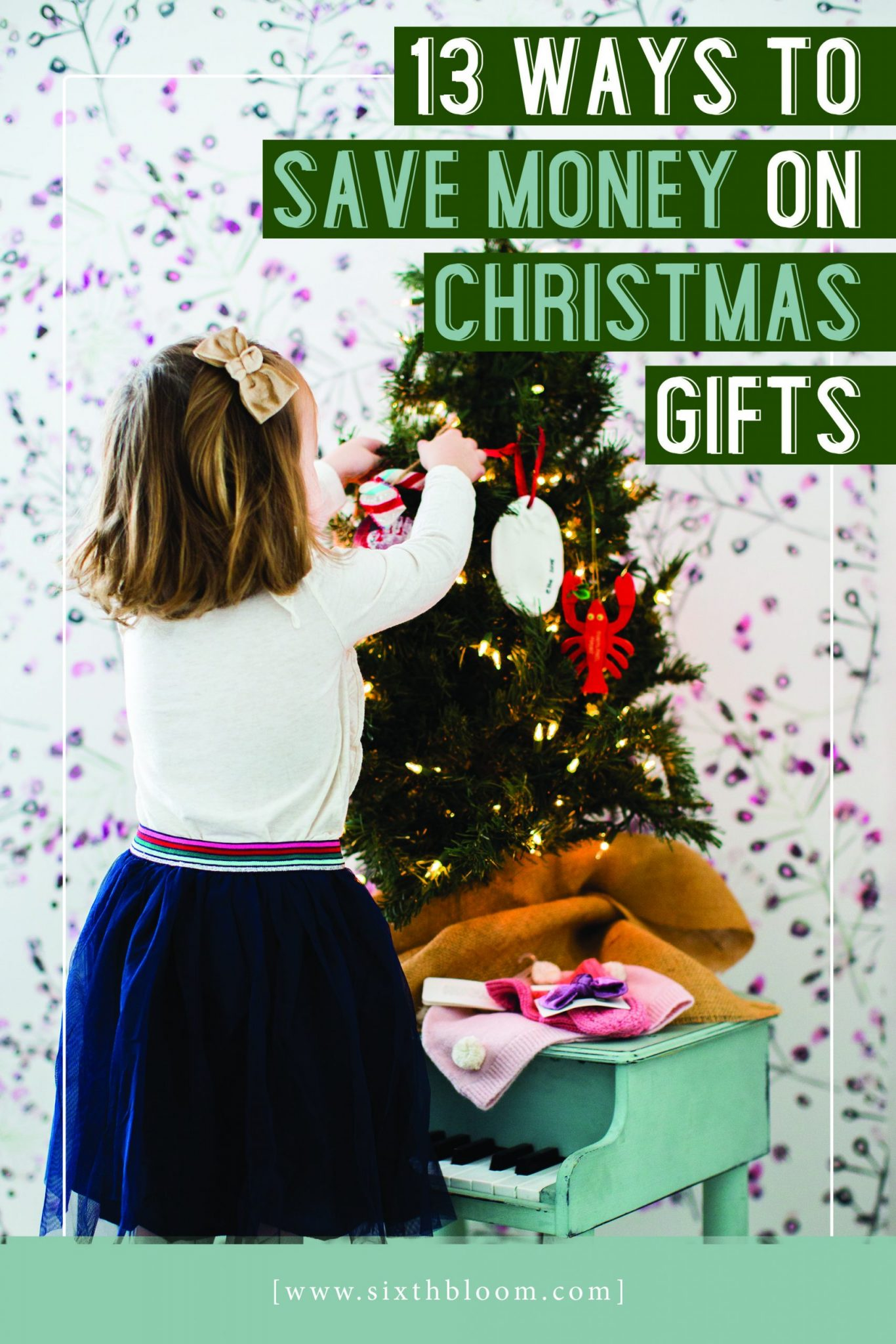 learn ways to save money on Christmas gifts