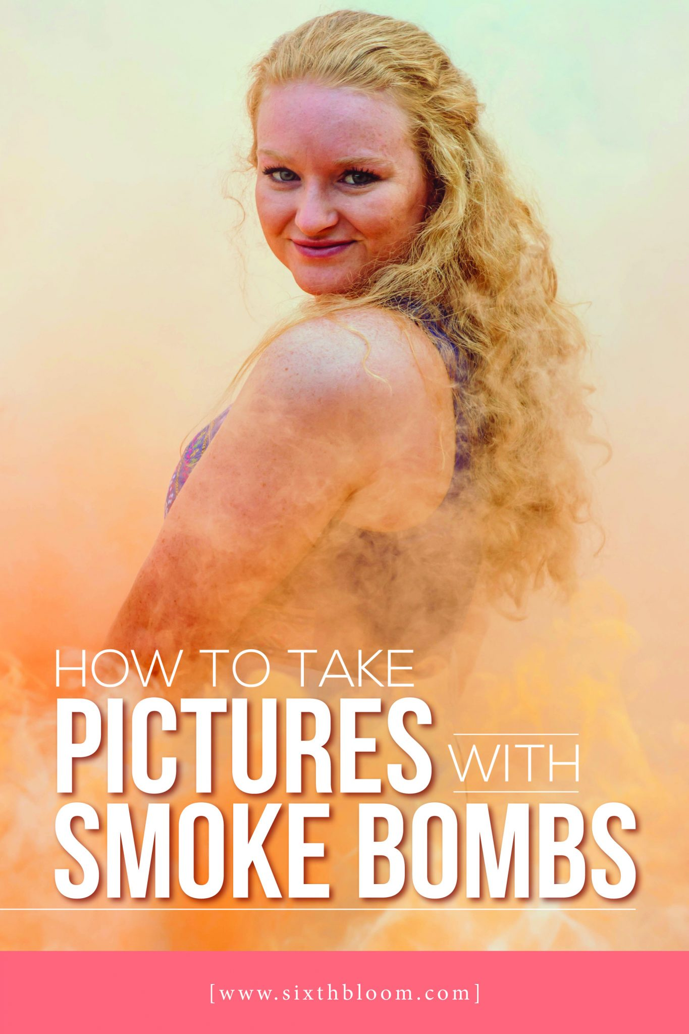 tips for taking pictures with smoke bombs