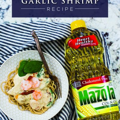 Creamy Tomato Garlic Shrimp