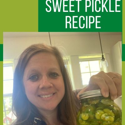 No Cook Refrigerator Sweet Pickle Recipe